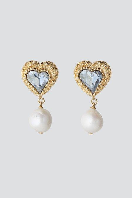 Safsafu Eden Love Earrings - Blue