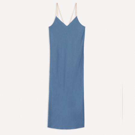 Ba&sh Chiara Dress - Blue/Grey