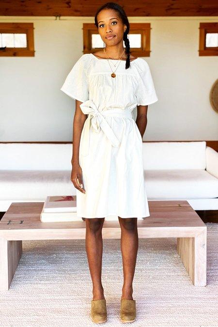Emerson Fry Colette Short Dress - Ivory