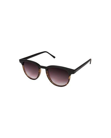 Unisex KOMONO Gafas De Sol Francis - Matte Black/Tortoise
