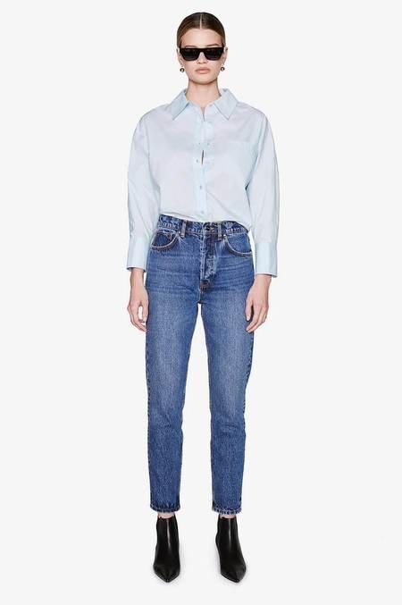Anine Bing Mika Shirt - Blue