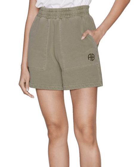 Anine Bing Kelsie Short - Green Khaki