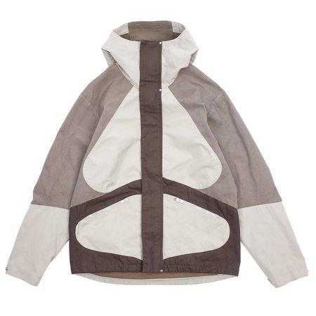 Arnar Mār Jōnsson Overdyed Composition Outerwear Jacket - Beige