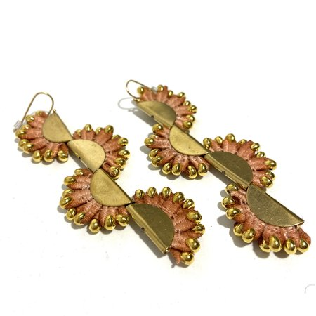 This Ilk Anthazoa Earrings - Coral