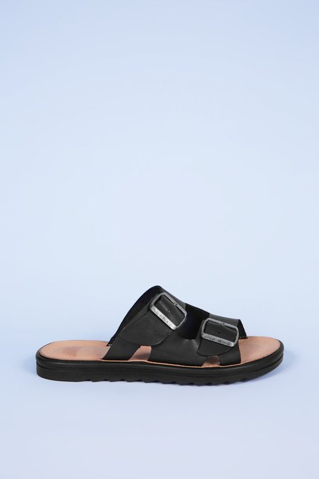 """""""INTENTIONALLY __________."""" Express Sandals - Black"""
