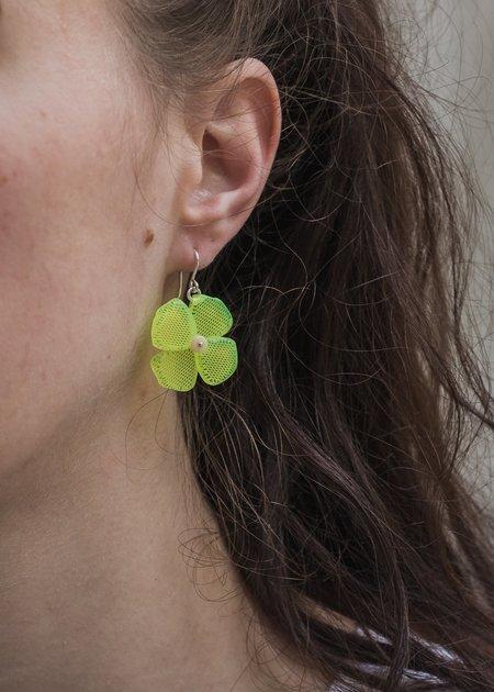 Woll California Poppy Earrings