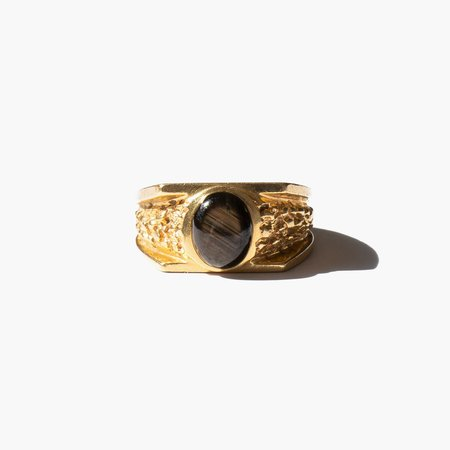 Kindred Black Aicha Ring - 14k