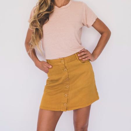 Jungmaven Vassar Skirt - Marigold