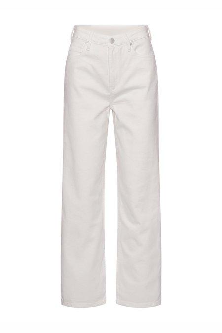 2NDDAY RAVEN Straight Leg Jean - white