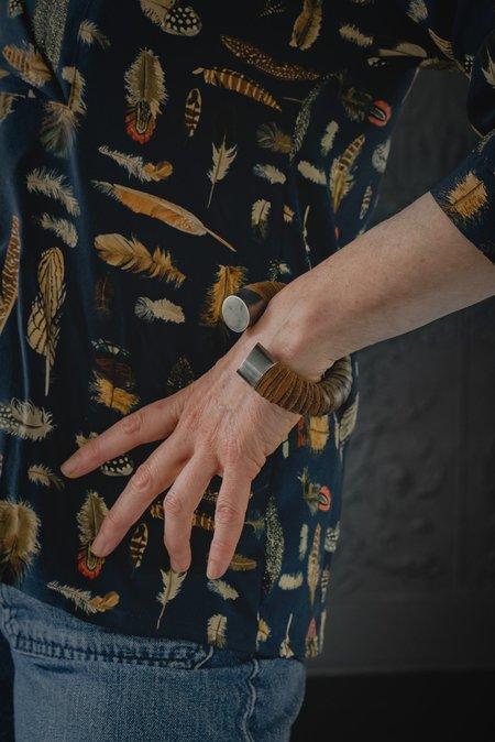 Wildhorn Leather Cuff - Tan