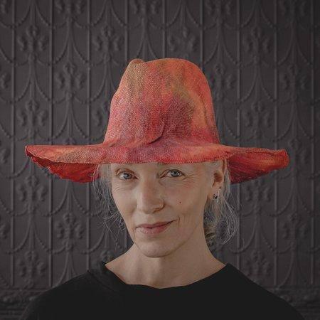 Reinhard Plank Norma Viscose Hat - red