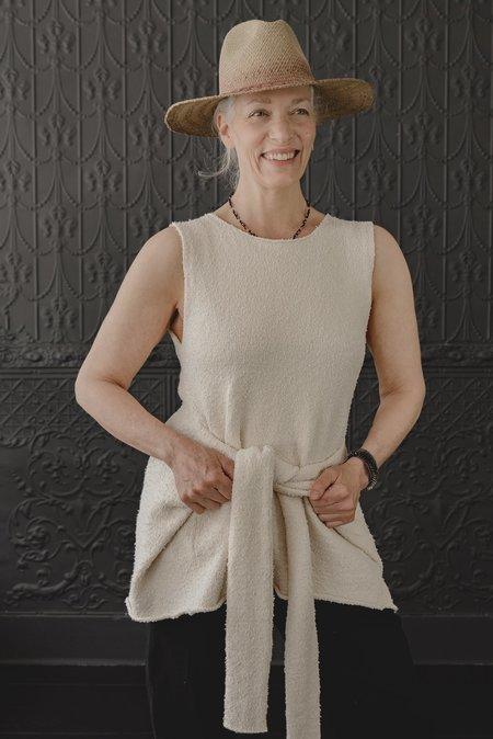 Lauren Manoogian Tie Pullover - Crudo
