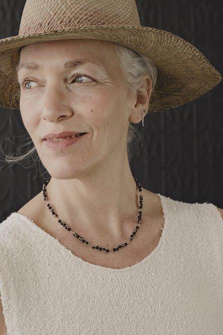 Estyn Hulbert Wiggle Necklace - Onyx