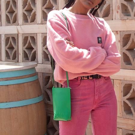 Ganni Small Crossbody Bag - Kelly Green