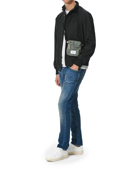 SANDQVIST Sixten Natural Leather Shoulder Bag - Dusty Green