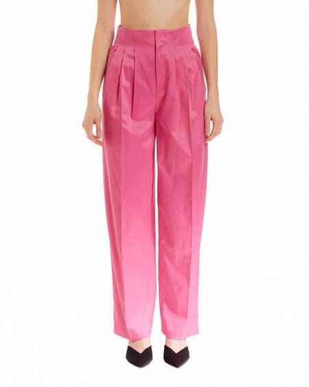 Rotate Janis High Waist Trousers - Pink