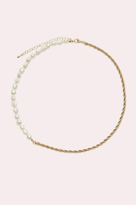 Petit Moments Mary Necklace - Gold