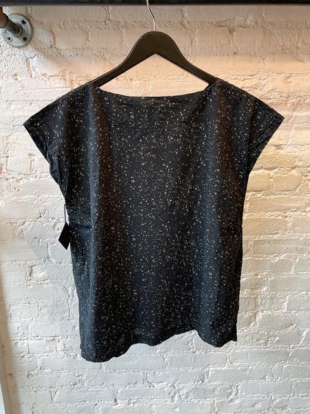Uzi NYC Speckle Tunic - Black