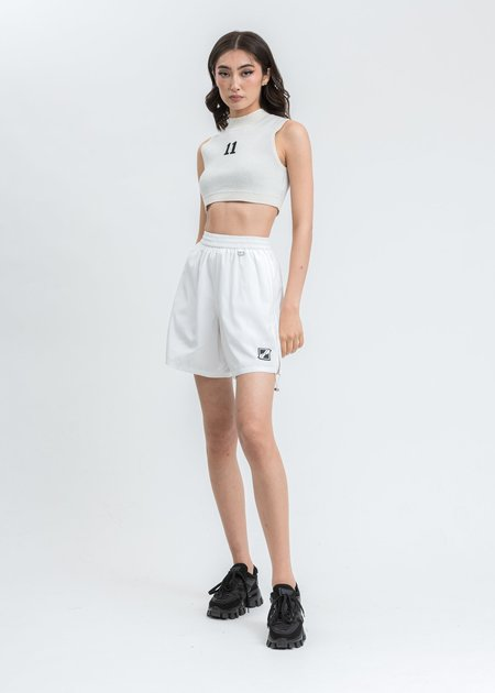 we11done Basic String Short - white
