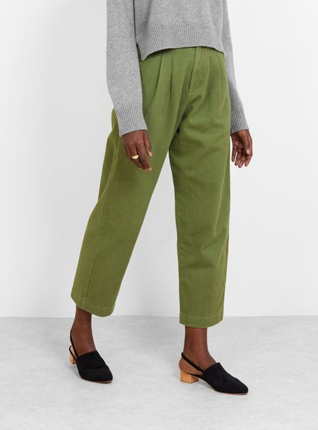 L.F.Markey classic slacks pants - olive