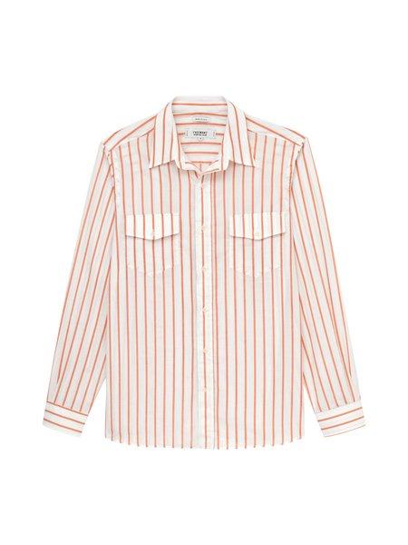 Freemans Sporting Club CS 1 Shirt - Rust Stripe