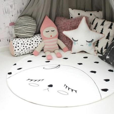 KIDS WILLIE AND MILLIE Face Playmat