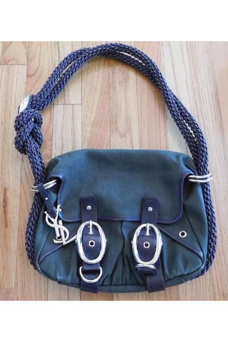 7 on Locust Vintage Yves Saint Laurent Buckle Bag