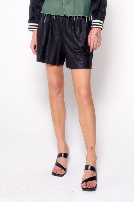 Aquarius Cocktail DOLLY shorts - faux leather