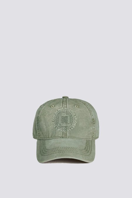 Unisex Assembly Center for Intuitive Studies Circle Logo Hat - Washed Green