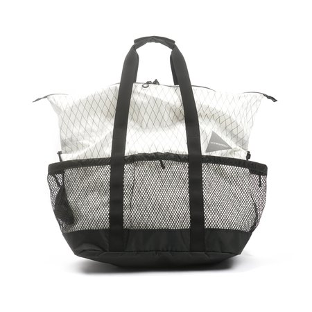 and wander X-PAC 45L TOTE BAG - OFF WHITE
