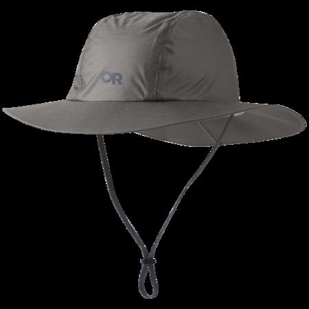 Outdoor Research Helium Rain Full Brim Hat - Pewter