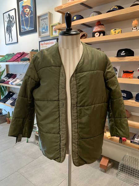 Vintage Tilted Brim 70s M65 Liner Jacket - Olive