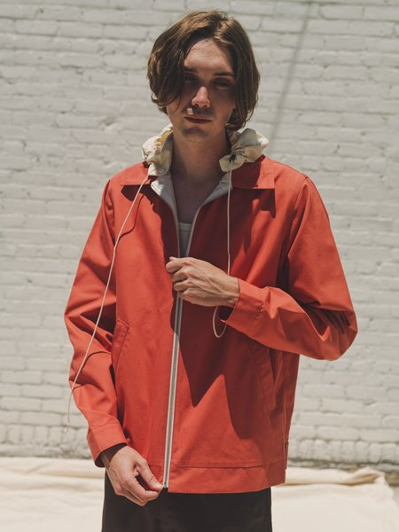 Camiel Fortgens DPTO Exclusive Hooded Simple Jacket - Baked Apple