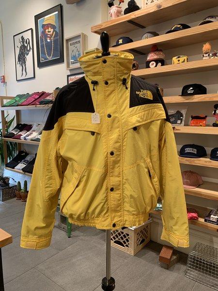 Vintage Tilted Brim North Face Ski Jacket - Yellow
