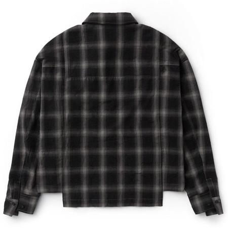 IISE Pannel Flannel top - Black/Beige
