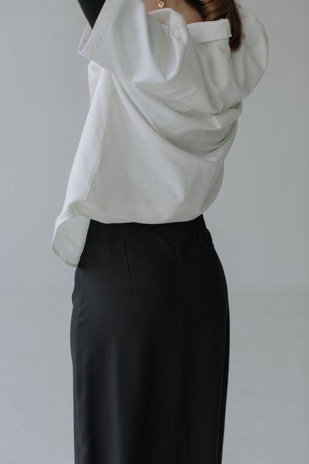 Mina Day Shirt - Cream
