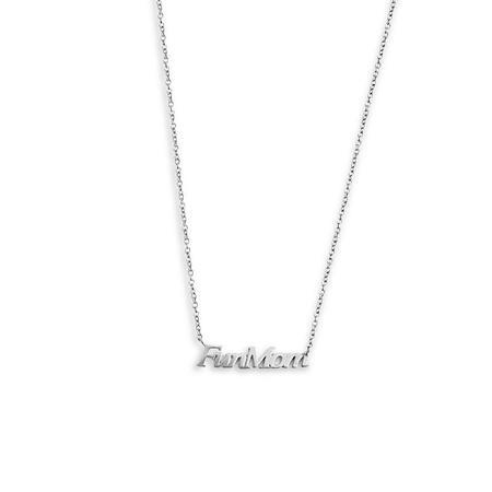 Sierra Winter Jewelry Fun Mom Necklace - sterling silver
