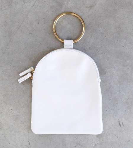 Otaat/Myers Large Ring Pouch in White