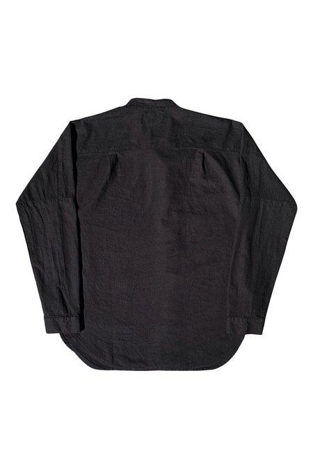 Unisex SEEKER A Sym Button Up Shirt - Black