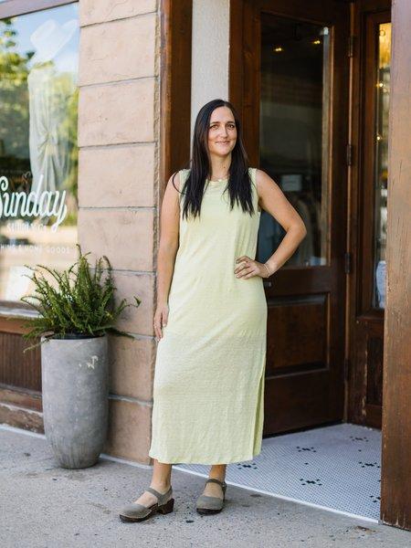 Mod Ref The Cala Dress - Neon Yellow