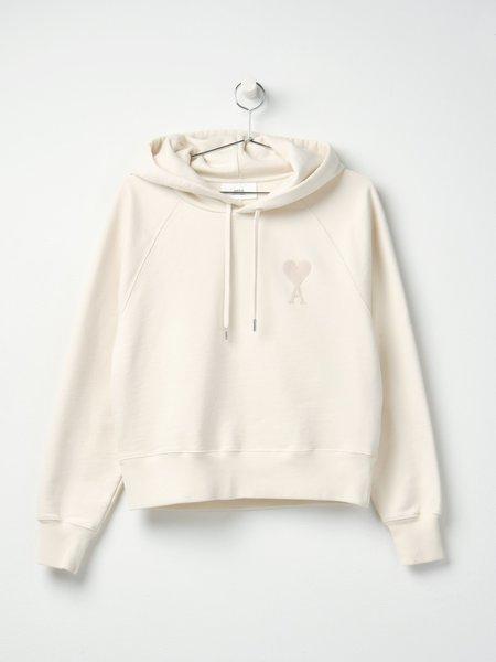AMI DE COEUR HOODIE sweater - OFF WHITE