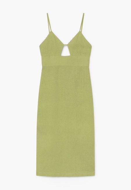 Paloma Wool Dalini Dress - Lime
