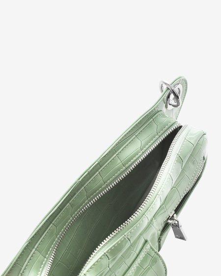 Hvisk Brillay Croco Bag - Mint Green