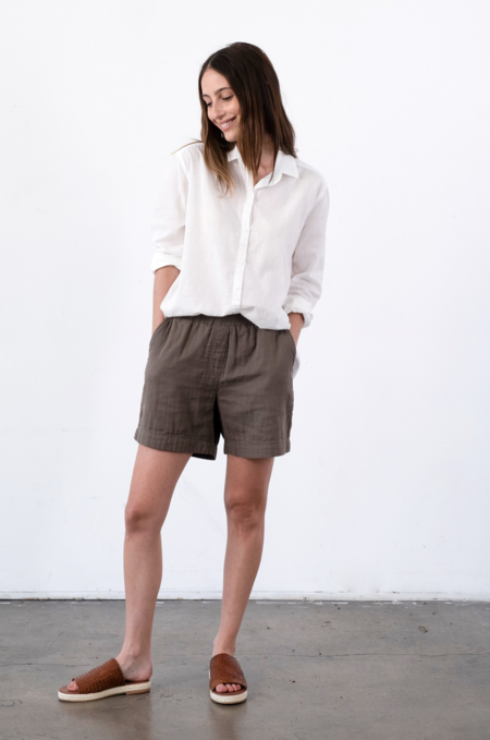 It Is Well L.A. Everyday Shorts - Olive