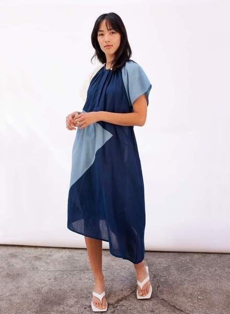 Seek Collective Leta Dress - deep indigo