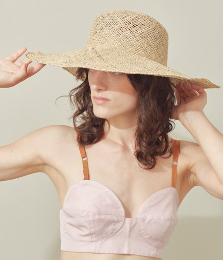 Clyde Pearl Hat - Seagrass Straw