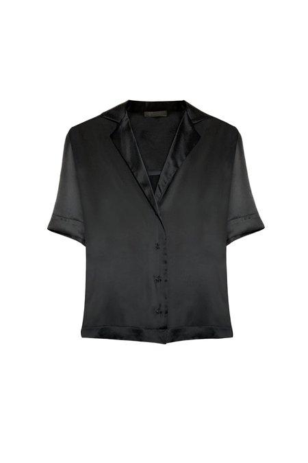 KES Relaxed Havana Linen Shirt - Natural