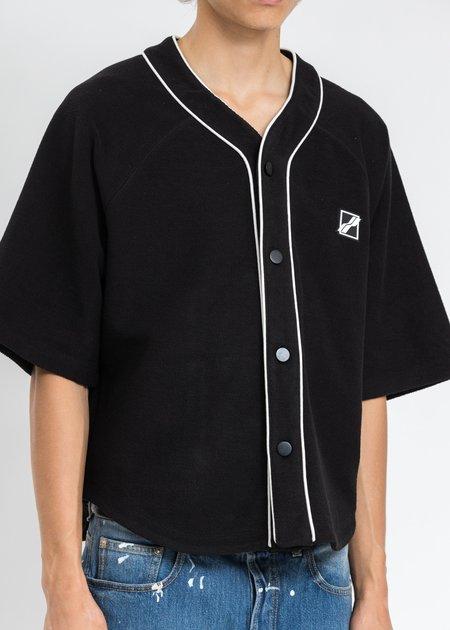 we11done Baseball Jersey Shirt - Black