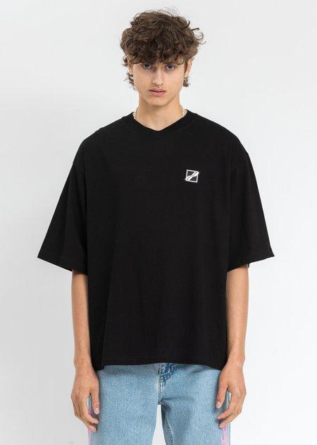 WE11DONE Mini Logo Patch T-Shirt - Black