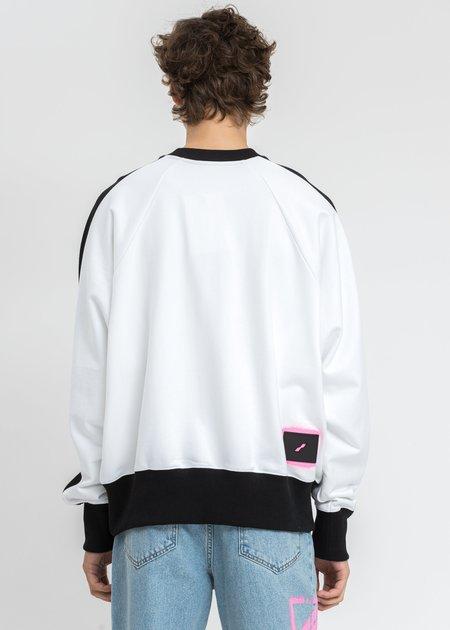 We11done Homesick Raglan Sweater - White